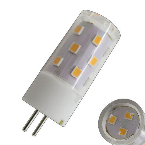 G6.35 GX6.35 GY LED 5 Watt 12V AC/DC Keramik warmweiss 480 Lumen