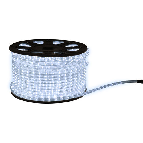 LED Lichtschlauch 50 Meter auf Rolle weiss 36 LEDs pro Meter incl. CH Stecker