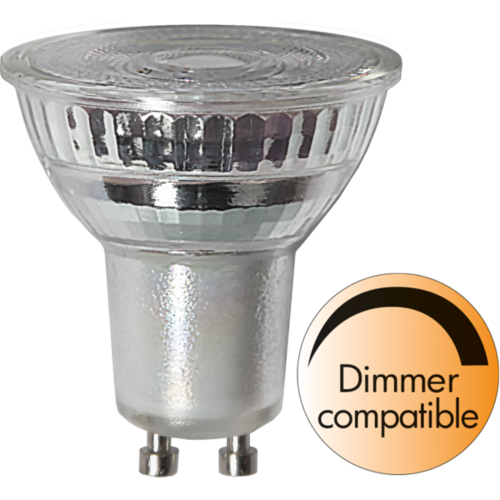 LED GU10 Spot 5,5 Watt 350 Lumen warmweiss dimmbar ( StarTrading )