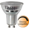 LED GU10 Spotlight Glass 380 Lumen 4,5 Watt neutralweiss 4000K dimmbar